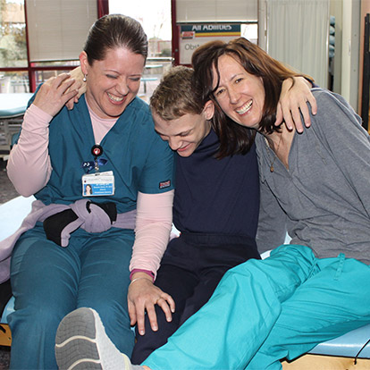 two providers and a patient