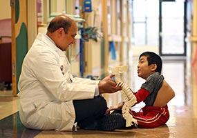 un paciente y un médico