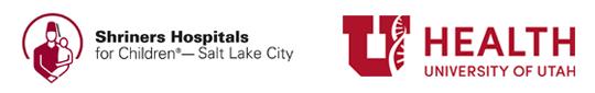 Shriners Hospitals for Children and University of Utah logos