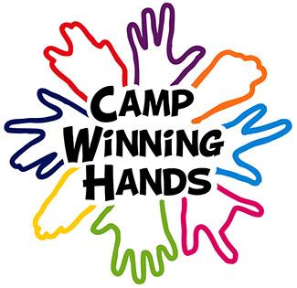 Camp Winning Hands logo