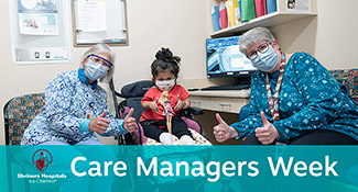 Care managers with patient