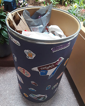 Donation barrel