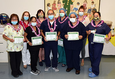 Koh with several other DAISY Award winners