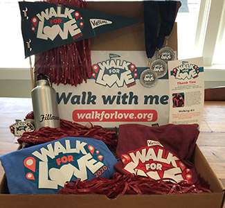 Walk for Love swag