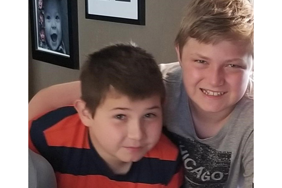 Zack and Cooper